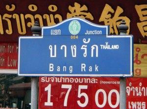 Bang Rak Street in Bangkok's Silver District
