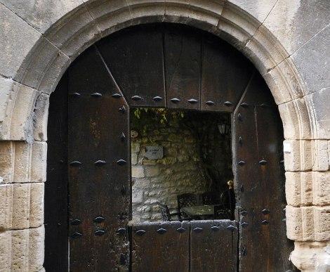 Doorway into winery