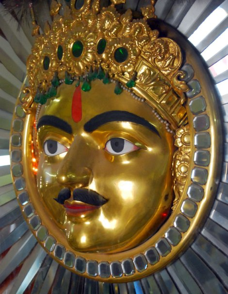 The Sun God in Udaipur's Palace