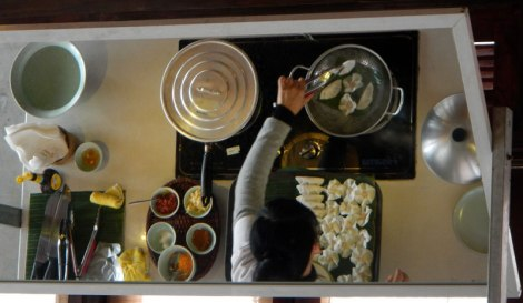 A Hoi An speciality: White Rose dumpling