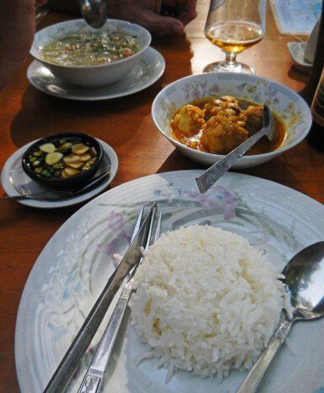 In Bagan, the dinner that did me in