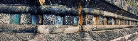 Exterior of Thatbyinnyu Phaya in Bagan, Myanmar