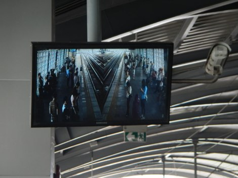 Bangkok Rail Security Screen