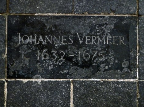 Delft's Old Church Contains the Grave Marker of Vermeer