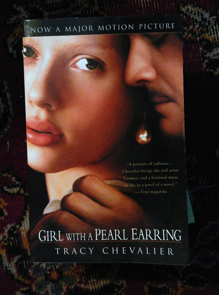The Girl with the Pearl Earring, a book to read in Holland