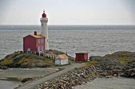 Victoria's Fort Rodd Lighthouse