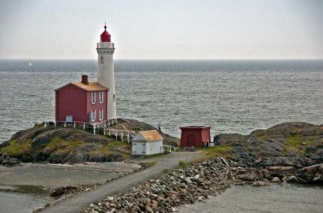 Victoria's Fort Rodd Lighthouse