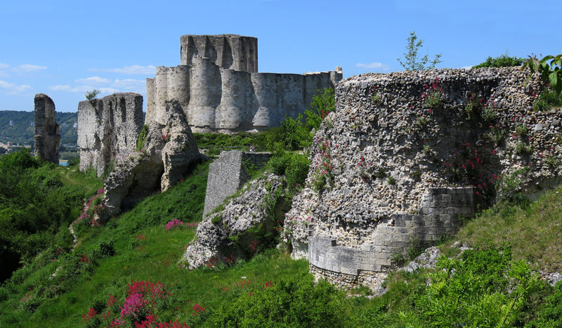 The Ruins Of Chateau Gaillard In Normandy France Albatz
