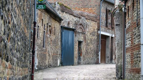The Medieval Village at St-Valery-sur-Sommes
