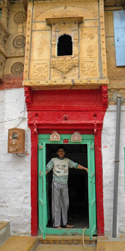 A Doorway in Jaisalmer