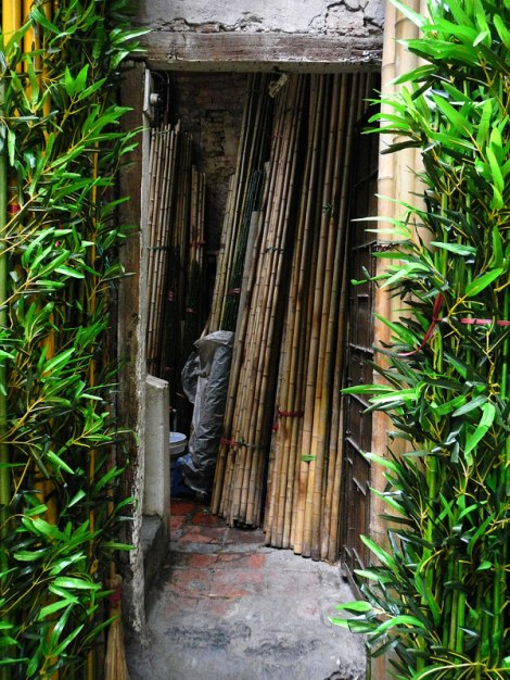 Bamboo Shop in Hanoi