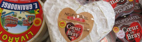 Neufchatel Cheese from Livarot, France