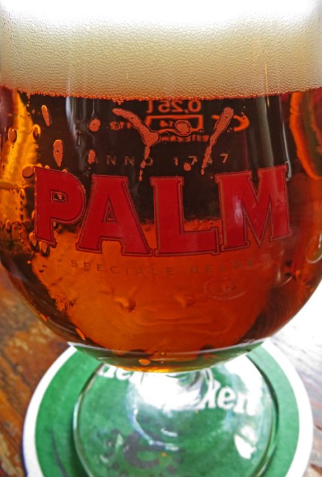 A Palm Beer at Cafe 't Smalle in Amsterdam