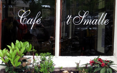An Historic Amsterdam Pub or Brown Café: Cafe 't Smalle