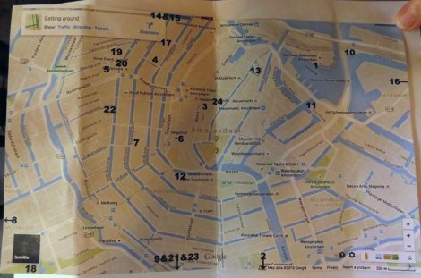 Amsterdam Beer Guide Map Prezzy