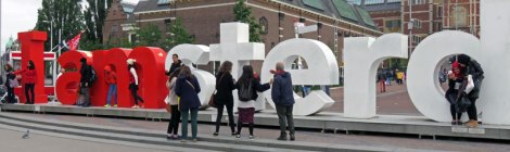 'I amsterdam' Sculpture