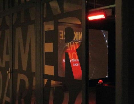Nederlands Fotomuseum: entering 'The Darkroom'