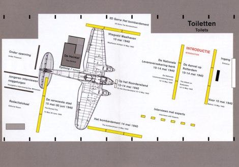 Rotterdam War Exhibit Floorplan