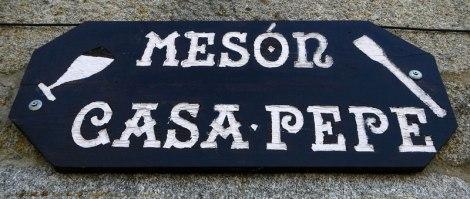 Meson de Casa Pepe sign