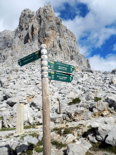 Trails to the next village up in the Picos de Europa