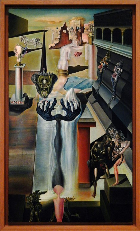 Madrid's Reina Sofia Modern Art Museum: a Painting by Dali