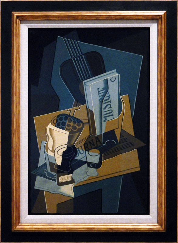 Madrid's Reina Sofia Modern Art Museum: A Painting by Juan Gris