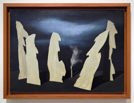 Madrid's Reina Sofia Modern Art Museum: a Painting by Magritte