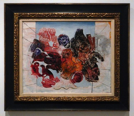Madrid's Reina Sofia Modern Art Museum: a Painting by Max Ernst