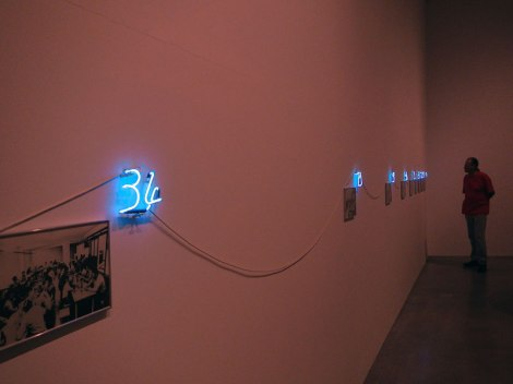 Madrid's Reina Sofia Modern Art Museum Art: Neon Numbers