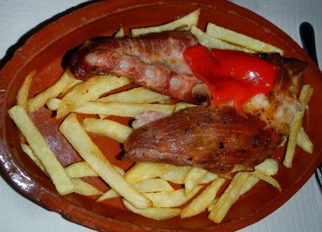 Meson de Casa Pepe churrasco de ternera