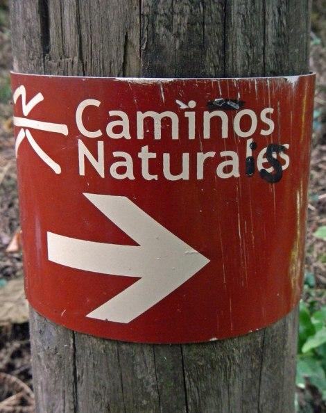 Ribeira Sacra Caminos Naturales Sign