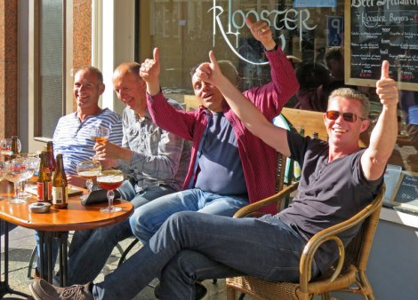 Friendly Crowd at 't Klooster Pub in Delft