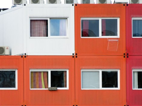 Modular Housing in the NDSM Area of Amsterdam