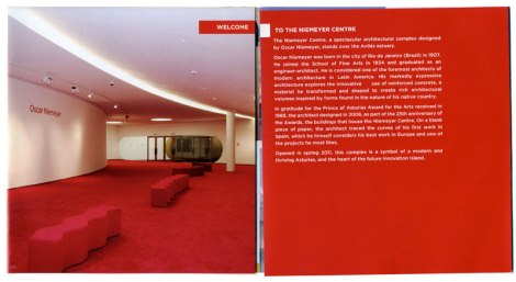 Aviles Neimeyer Centre Brochure