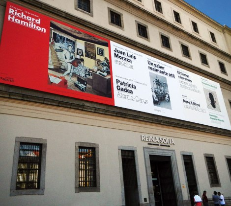 The Reina Sofia Modern Art Museum in Madrid