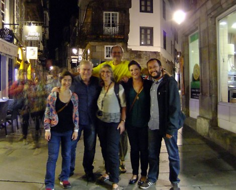 The Santiago de Compostela Gang After Midnight