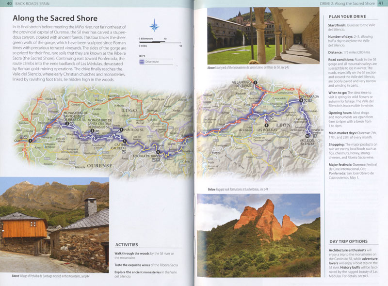 DK Back Roads Spain Book: Sacred Shore