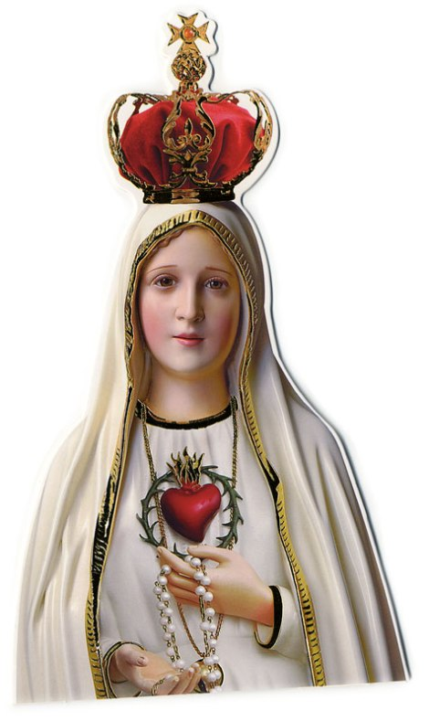 Virgin of Lourdes at Viviero, Spain