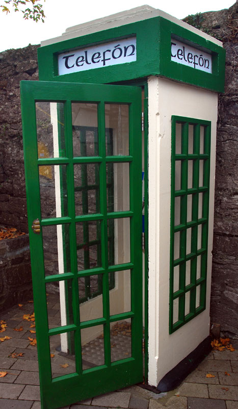 The Full Irish Telephone Booth in Cong