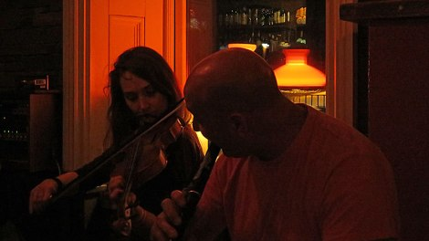 A Traditional Music Session in a Doolin Pub