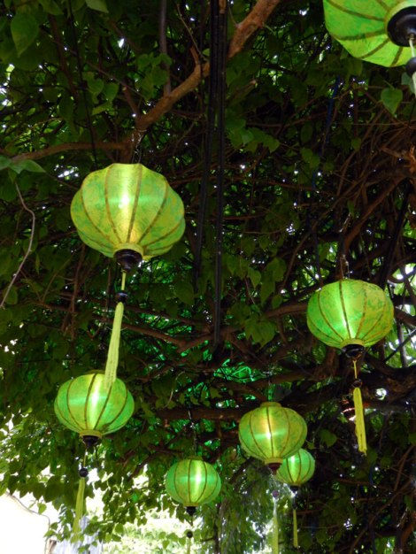Green Lanterns in Hoi An, Vietnam