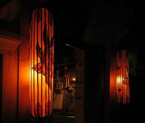 Unusual lanterns in Hoi An, Vietnam