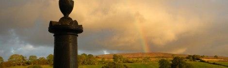 Trummery Cemetery Rainbow