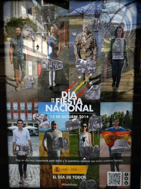 The poster for the 'Dia de Fiesta Nacional''