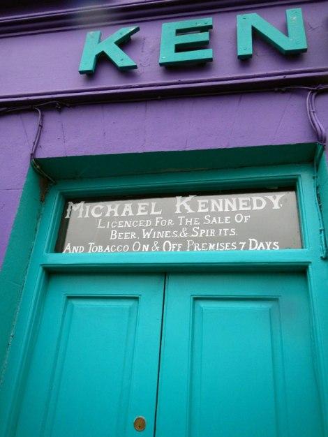 Brightly-Colored Wine Store in Dingle. Ireland