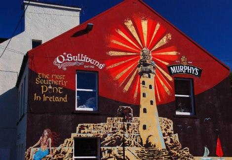 O'Sullivans Pub in Crookhaven on Mizen Head in Ireland