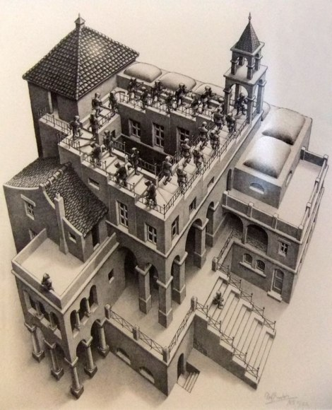 One of Escher's inspirations was his old school