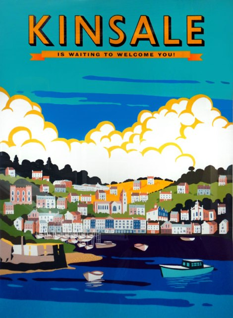 Poster of colourful Kinsale