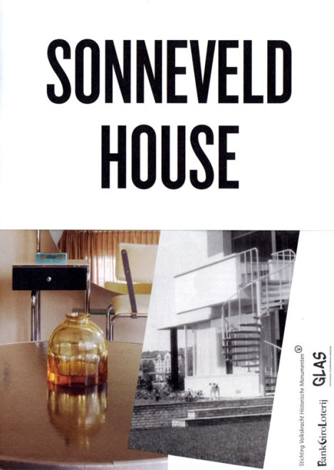 Booklet for the Sonneveld House in Rotterdam, Holland