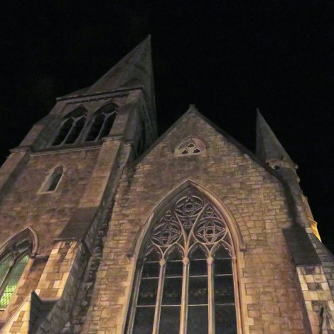 Dublin's Literary Pub Tour: The Cathedral in the Half-light